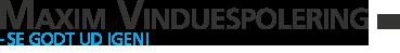 Maxim Vinduespolering I/S Logo